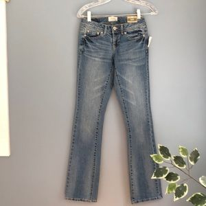 Aeropostale curvy bootcut jeans